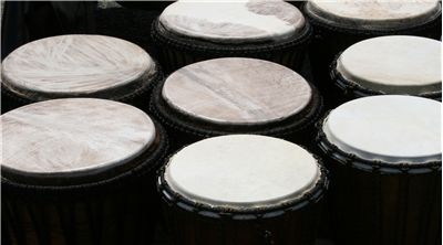 Djembe African Drums