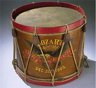 Drum Carried By John Unger