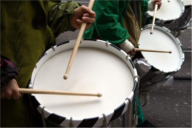 Drums on Carnival of Basel
